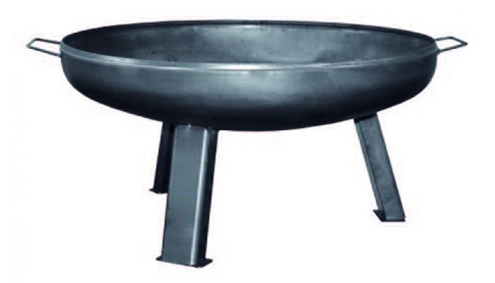 Чаша для костра из черной стали