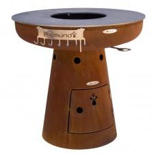 Дровяной гриль ReMundi NERO L 105 - 800702
