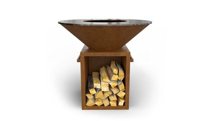 Дровяной гриль-мангал AHOS BOX