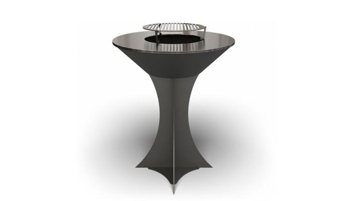 Дровяной гриль-мангал AHOS OLYMPIC 750 black