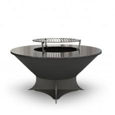 Дровяной гриль-мангал AHOS OLYMPIC 750 LOW black