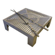 3-в-1 Основа со стенками от ветра + Гриль + Вок Quan Medium