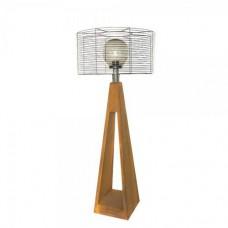 Фонарь с внешним осветителем Quan электрический, коричневый