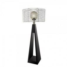 Фонарь с внешним осветителем Quan электрический, черный