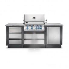 Конфигурация летней уличной кухни Napoleon Oasis-100 - Oasis100