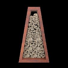 Стеллаж для хранения дров Quan Premium коричневый