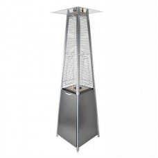 Газовый уличный инфракрасный обогреватель Activa Pyramide Cheops II, 9,3 кВ, серый - 13610GB