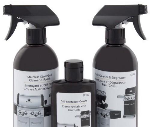 Средства для чистки, полировки и восстановления нержавеющих поверхностей гриля
